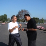 Eric and Muhammad Ali in San Diego
