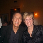 Eric and author Kathy Reichs in Montreal